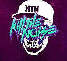 Kill The Noise Skull by FeatherLigure