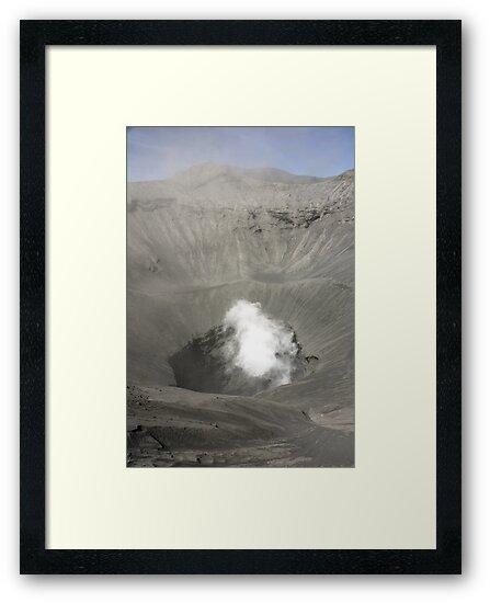 Caldera of Bromo Mountain (Gunung Bromo) by Tim Coleman