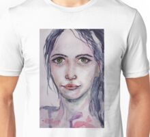 Lady in Lilac Unisex T-Shirt