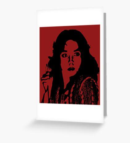 Suspiria - Dario Argento Greeting Card