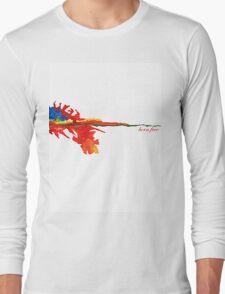 fire born free Long Sleeve T-Shirt
