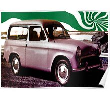 green twirl auto Poster
