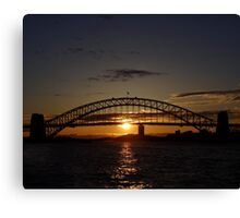 Day Ending Canvas Print