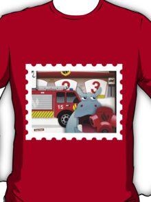 Hippo Hoppo - the firestation T-Shirt