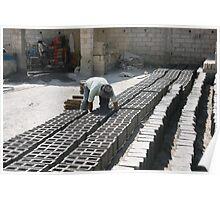 Making Bricks in Cotacachi Poster