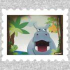 Hippo Hoppo - the jungle by StudioRenate