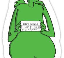 Grinch Sticker
