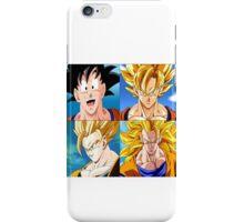 Goku Evolution - Dragon Ball iPhone Case/Skin