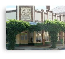 Bridge Tea Rooms, Carcoar Metal Print