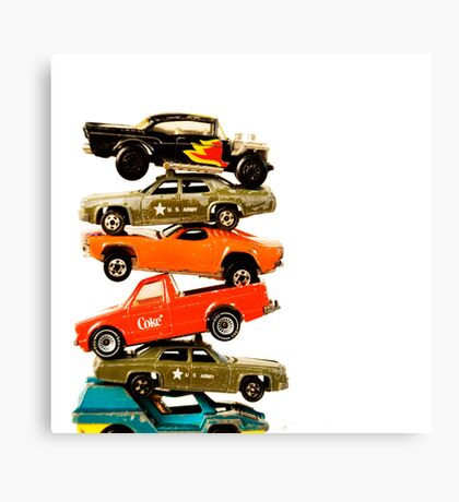 Cars 1 Canvas Print