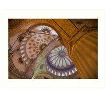 Blue Mosque, Istanbul Art Print