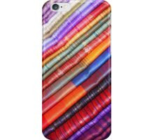 Linens at the Otavalo Craft Market iPhone Case/Skin