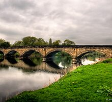 Repton Bridge by David J Knight