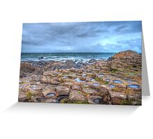 Giants Causeway Northern Ireland Greeting Card