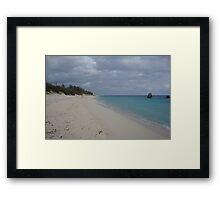 Warwick Bay Bermuda, Framed Print