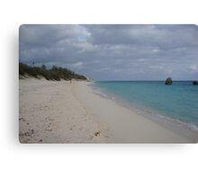 Warwick Bay Bermuda, Canvas Print