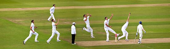 The England Fast Bowler by PhotoLouis
