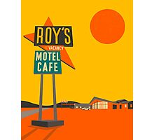 ROY'S CAFE Photographic Print