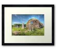St. Dubhan's Church Ring of Hook Ireland Framed Print
