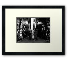 Characters Framed Print