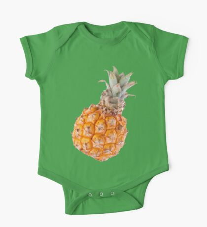 South African Baby Pineapple One Piece - Short Sleeve