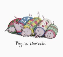 Pigs in Blankets Baby Tee