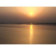 River Chenab HDR Photographic Print