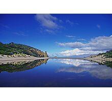 Serenity Mirror Photographic Print