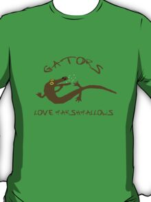 Gators Love Marshmallows T-Shirt