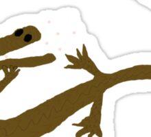 Gators Love Marshmallows Sticker