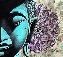 Peaceful Thoughts - Colour Your World Series by lucidstudioz