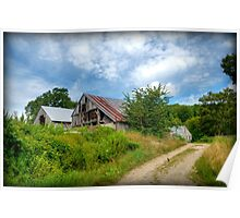 Farm on Bailey Road Poster