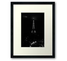 Paris, The Eiffel Tower Framed Print
