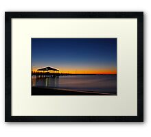 Redcliffe Sunrise Framed Print