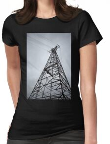 Tower #2 Womens Fitted T-Shirt