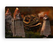 Dragonsworld Canvas Print