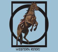 western rider Kids Tee