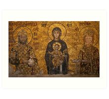 Hagia Sophia Mural Art Print