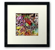 Street Life II Framed Print
