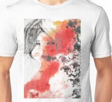 Eyes in a dreamy abstract world Unisex T-Shirt