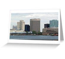 Waterside...Downtown Norfolk Greeting Card