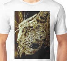 The Hunt-Snow Leopard Eyes Prey Unisex T-Shirt