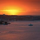 Sunrise over Halifax Harbour by Darren Boucher