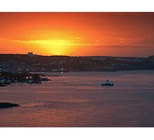 Sunrise over Halifax Harbour Photographic Print