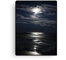 Light of a Super Moon Canvas Print