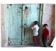 Peeking through the cracks... - Iran Poster