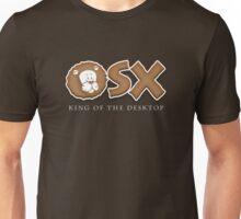 "Mac OS X Lion ""King of the Desktop"" Unisex T-Shirt"