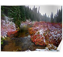 Refresh Me ~Oregon Cascades ~ Poster