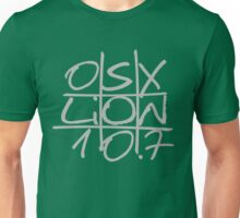 """Mac OS X Lion """"Noughts and Crosses"""" Unisex T-Shirt"""