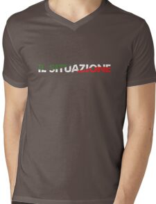 The Situation in Italy Mens V-Neck T-Shirt